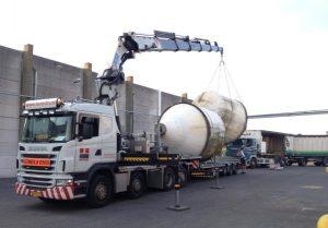 CZAV Dinteloord renovatie constructie kunstmest silo's in opdracht van machinefabriek Vissenberg B.V.